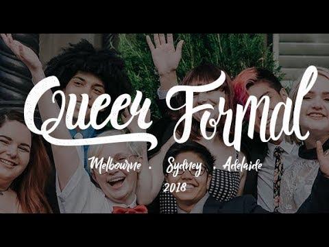 Queer Formal 2018 - Melbourne, Sydney, Adelaide