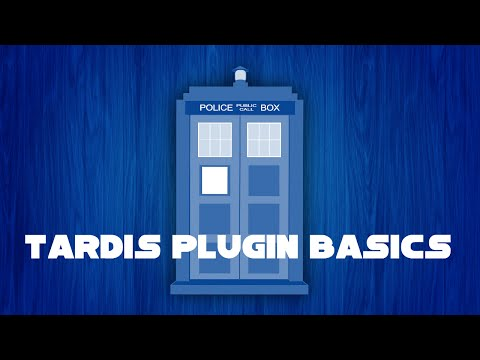 Travel in a tardis! in minecraft! (TARDIS Plugin) [2014]