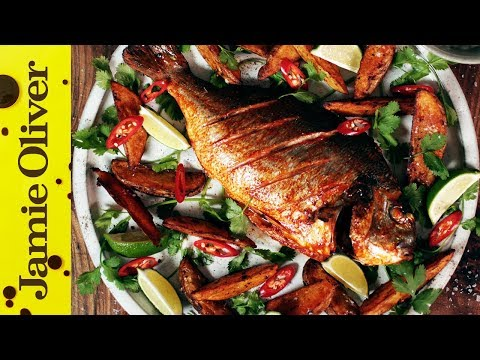 Spicy Fish & Chips   Shelina Permalloo