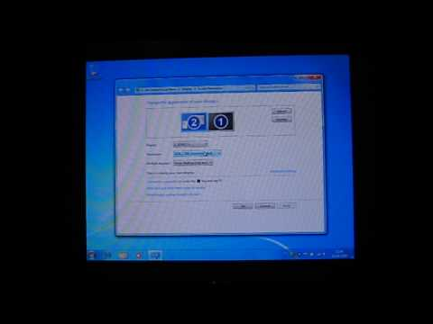 Connecting Your PC To A TV Using A VGA Cable - Windows 7 RTM - Intel GFX