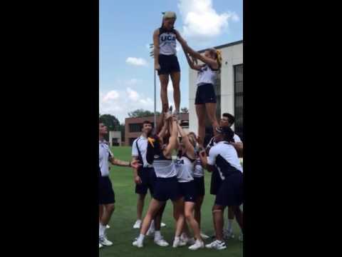 UCA stunt training 5