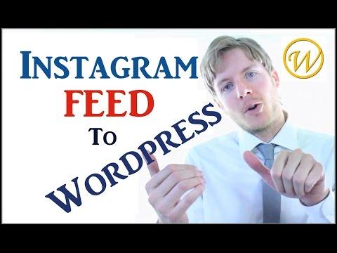 WordPress Instagram plugin - Add Instagram feed