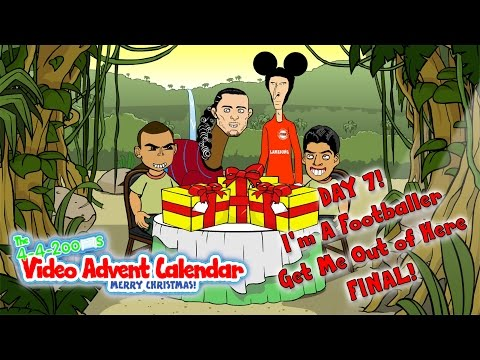 💻I'M A FOOTBALLER GET ME OUT OF HERE - THE FINAL💻🎄DAY 7🎄(442oons Advent Calendar)