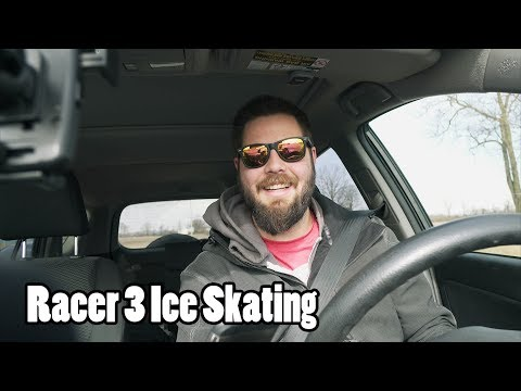 Ice Skating with a Racer 3