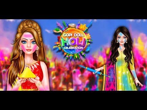 Gopi Doll Holi Celebration - Free Game