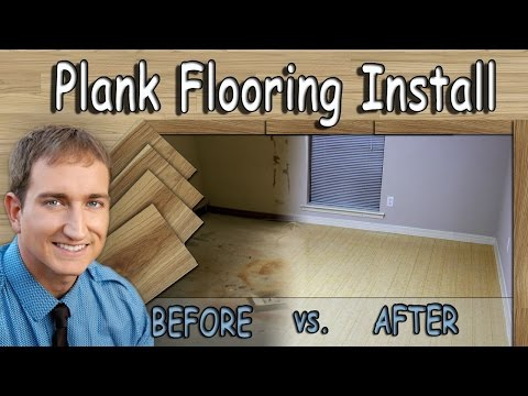 How To: Floating  Wood or Laminate Plank Flooring Installation