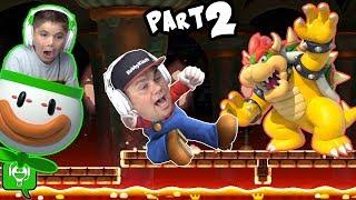 Mario Maker Custom Levels by HobbyPig on HobbyKidsGaming