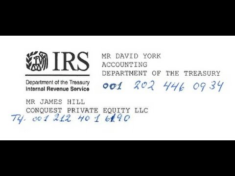 Fake I.R.S. withholding TAX by Economic Frauds CHANNEL