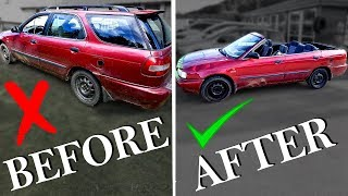 How To Make a Convertible Car Cabriolet BEST GUIDE