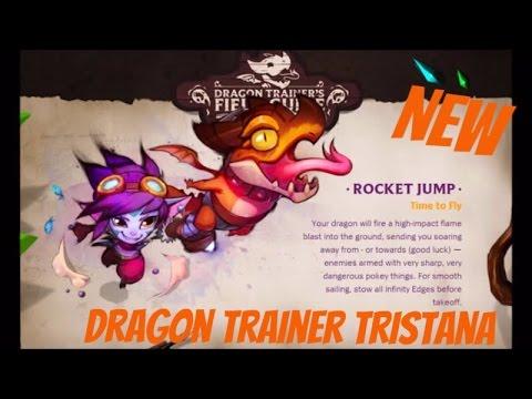 Dragon Trainer Tristana Skin Teaser - Legendary Skin