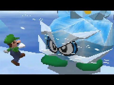 Super Mario 64 DS 100% Walkthrough Part 10 - Snowman's Land + Unlocking Wario