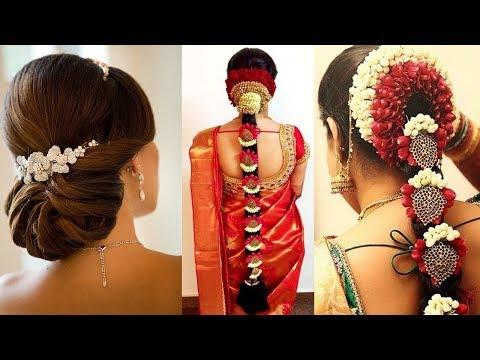 Xxx Mp4 Simple Indian Bridal Hairstyle Tutorial Perfect Bridal Bun And Bridal Plait Wedding Hairstyles 3gp Sex