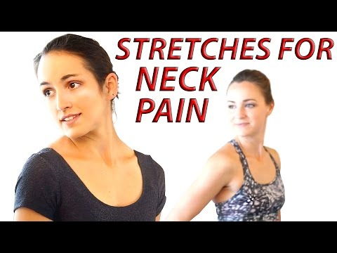 At Home Neck Pain Relief Exercise & Easy Stretches – Dance w/ Catherine