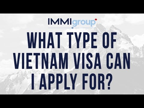 What type of Vietnam Visa can I apply for?