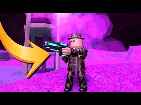 FINDING AN ALIEN FREEZE GUN!! (Roblox Jailbreak)