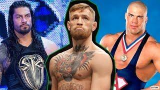 WWE Wrestlers REACT To Conor McGregor! WRESTLERS ROAST CONOR MCGREGOR!