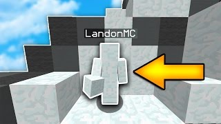 I AM SNOW! | Minecraft SKYWARS TROLLING... (I AM STONE CHALLENGE)