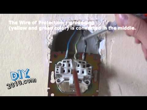 How to Replace a Wall Outlet Wall Socket