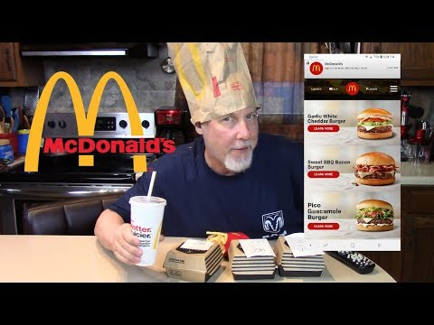 Tasting McDonald's Signature Crafted Burgers