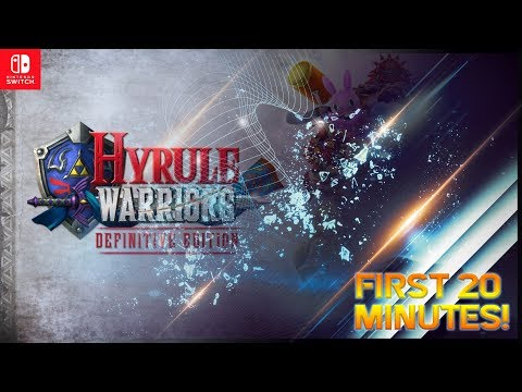 【Hyrule Warriors Definitive Edition】First 20 Minutes! (English Gameplay)