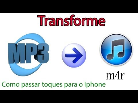 Como Transformar mp3 em m4r e como colocar toques no Iphone e Ipod Touch!