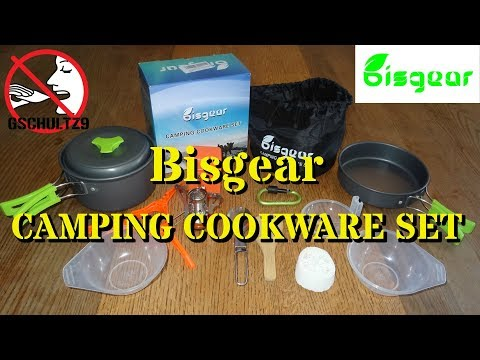 Gear Review: Bisgear 14pc Camping Cookware Set