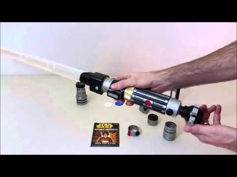 Star Wars Ultimate Lightsaber Kit: Making Your Own Lightsabers