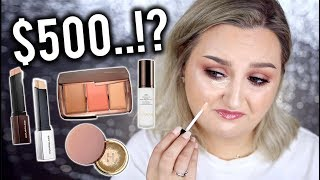 Download I TRIED $500 WORTH OF HOURGLASS MAKEUP .. WORTH IT? Video