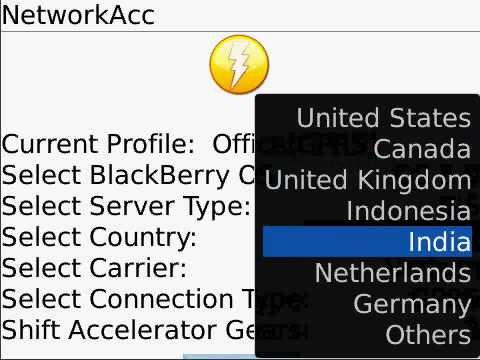 Boost Mobile Network Accelerator for BlackBerry 8900