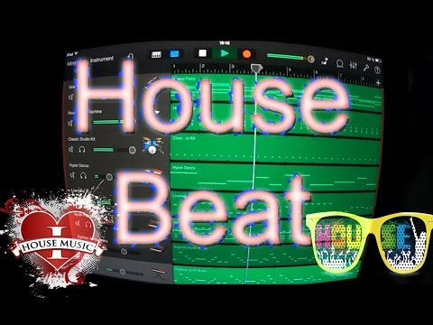 How to make a House Beat in Garageband (for iPad and iPhone)