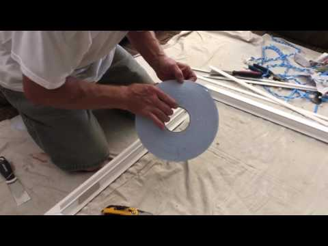 How to remove and swap glass from a Milgard window (part one)