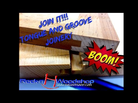 Join It!!! Tongue and Groove 2 methods // How to