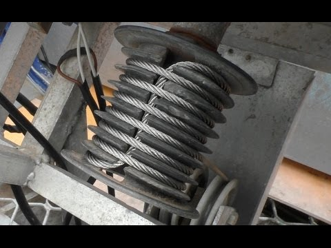 Winding cable and drum boat steering