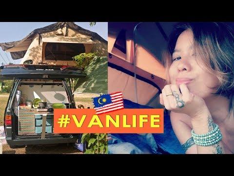 S1 EP 3 Van Life [ Micro Campervan First Trip ] MALAYSIA
