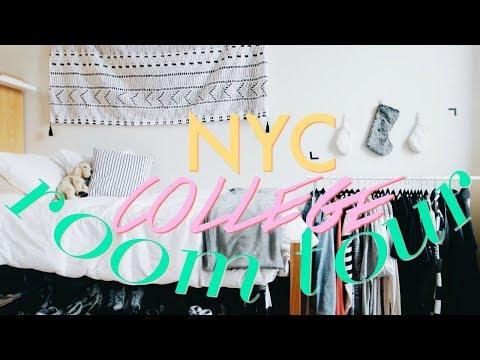 College Dorm Room / Apartment Tour 2017 | FIT NYC Kaufman Hall