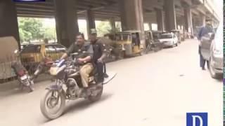 How Karachi police perform duties ? Watch video