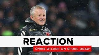 Chris Wilder   Tottenham Hotspur v Sheffield United   Reaction interview