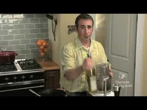 Video Recipe: Kale Almond Pesto