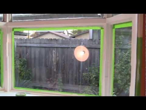 (31)- HOW TO PROPERLY MASKING TAPE WINDOWS AND WHY.