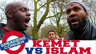 SA RA vs MUSLIM MAN | Was Adam An African? | Speakers Corner