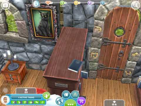 The Sims Freeplay #6 WIZARD HOUSE?!