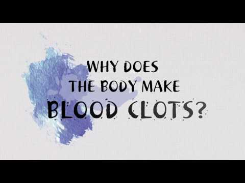 Why does the body makes blood clots