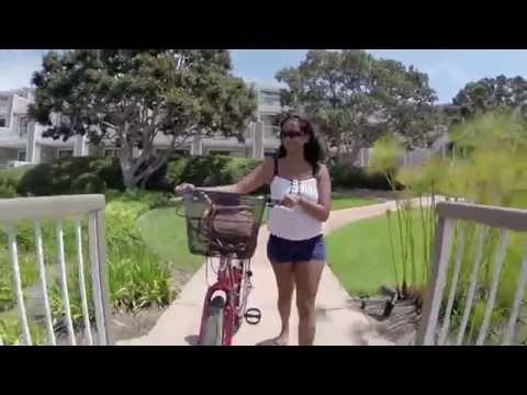 Bicycling in Coronado Island, San Diego