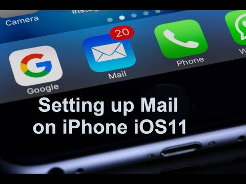 How to set up Mail on iPhone in iOS11