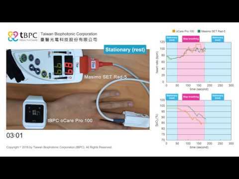 oCare Pro 100 wrist pulse oximeters