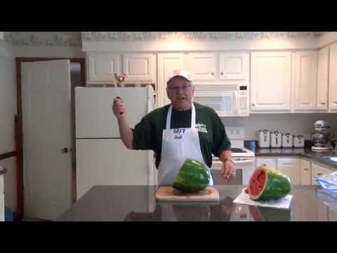 Mike Coulter Demo Cutting and Storing Watermelon