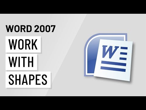 Word 2007: Working with Shapes