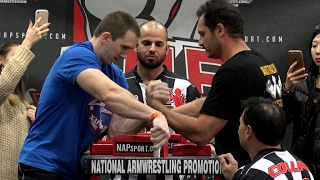 2017 California State Armwrestling Left Hand Championship Final