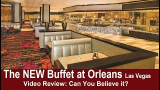 The New Budget Buffet at Orleans Las Vegas 2018 review: you won