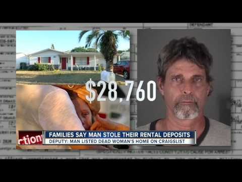 Families say man stole their rental deposits
